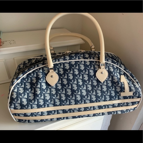 Christian Dior Diorissimo Girly Chic#1 Trotter Bag